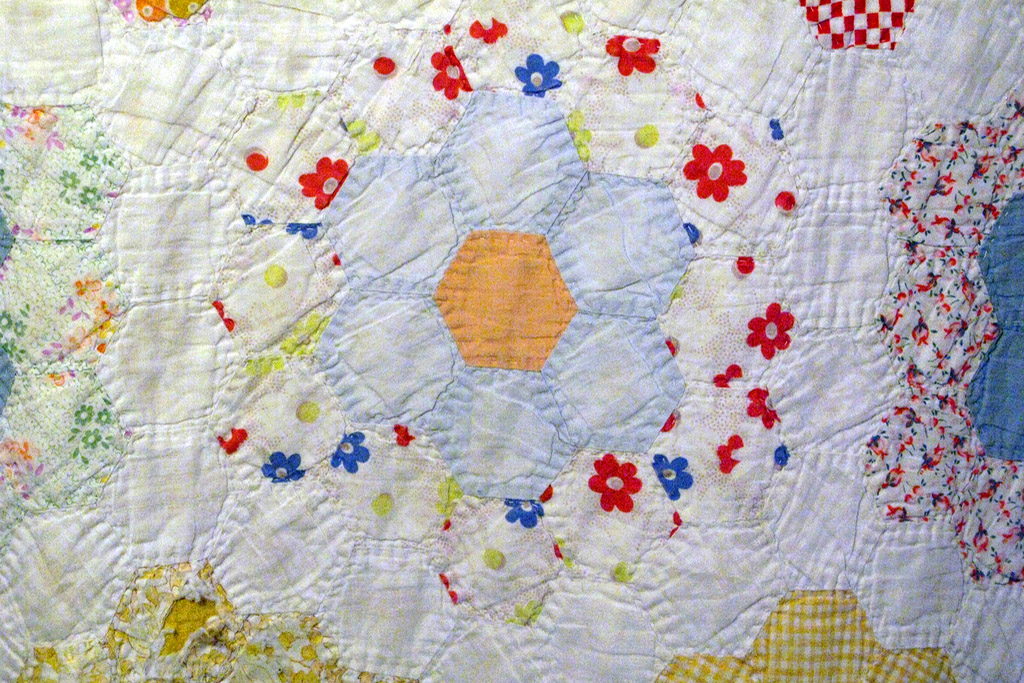 English Paper Pieced Quilt - foto de Moon Angel