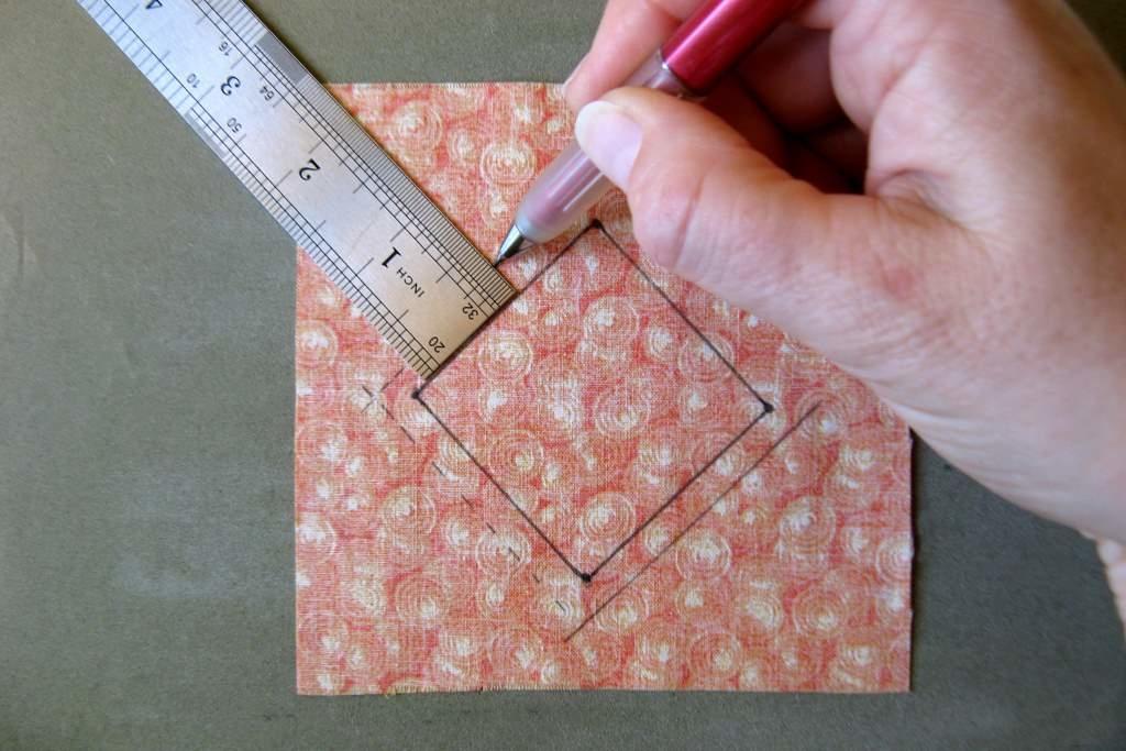 Dibujar margen costura-Regla dibujo