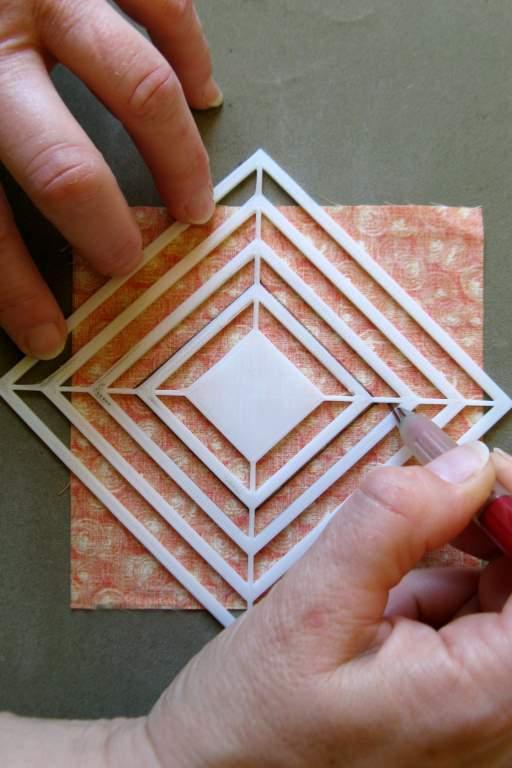 Dibujar margen costura-Plantilla