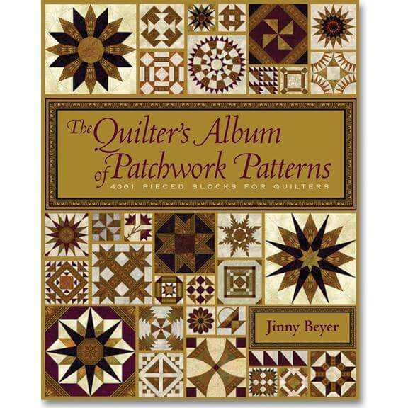 libro jinny beyer Quilters Album of Patchwork Pattern