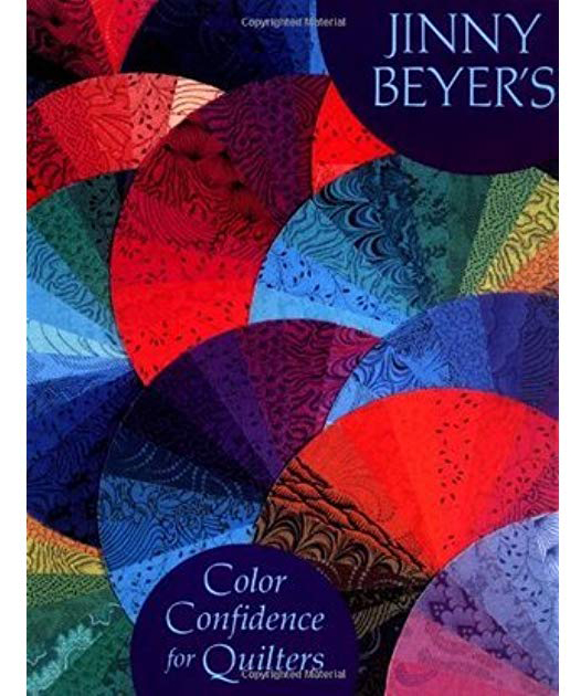 libro jinny beyer Color Confidence for Quilters