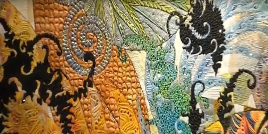 Festival Quilts Birmingham 2019 - Carlos Dambo