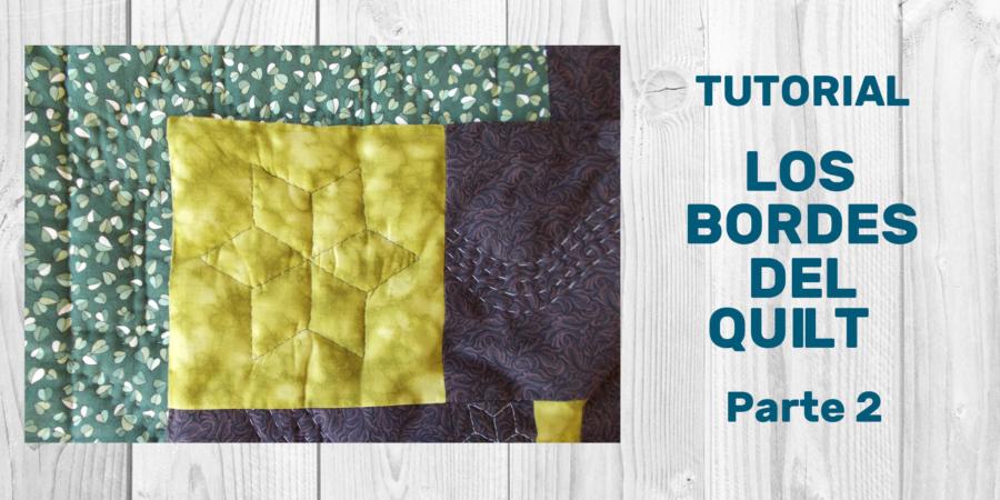 Tutorial Bordes Quilt 2
