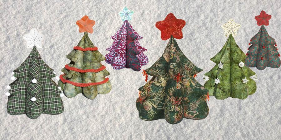 Decoraciones Arbol Navidad Tela