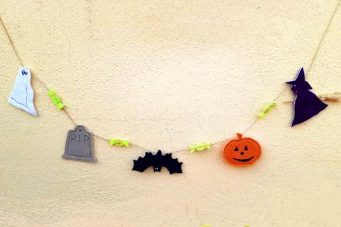 Patron Guirnalda Halloween