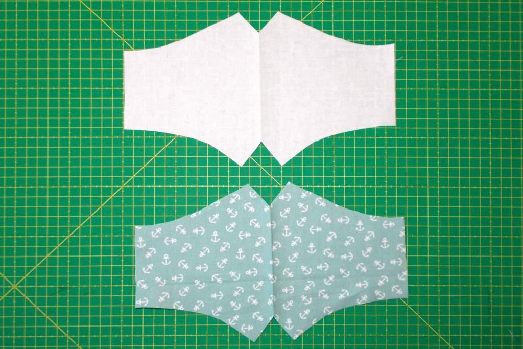 Dos piezas para coser